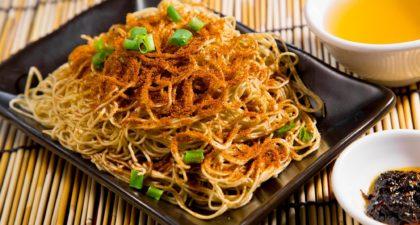 Wong Kun Sio Kung: Shrimp Roe Stir Noodle