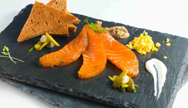 Copa Steakhouse: Smoked Salmon Plate