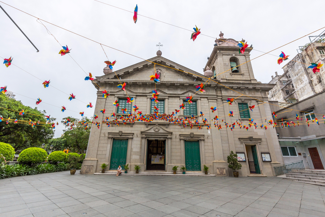 Macau: St. Anthony's Church
