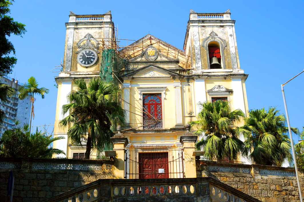 Macau: St. Lawrence's Church