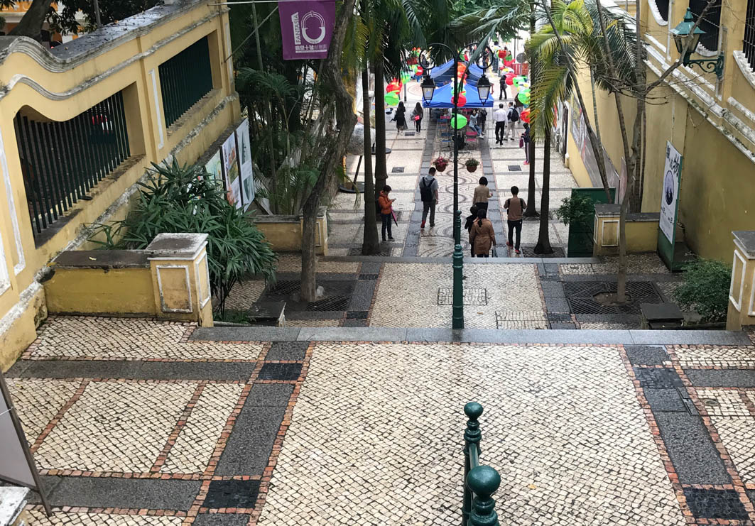 St. Lazarus Church District Macau: Stairs