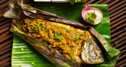 Saffron: Tempting Steamed Fish