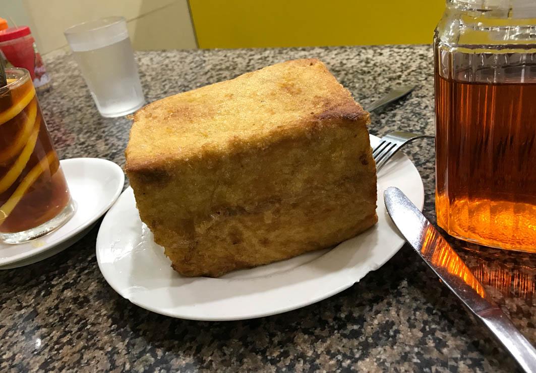 San Hong Fat Macau: Thick French Toast