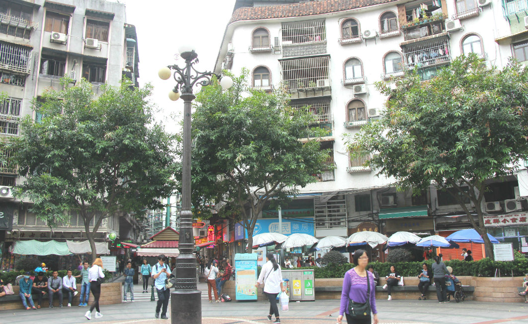 Macau: Three Lamps District