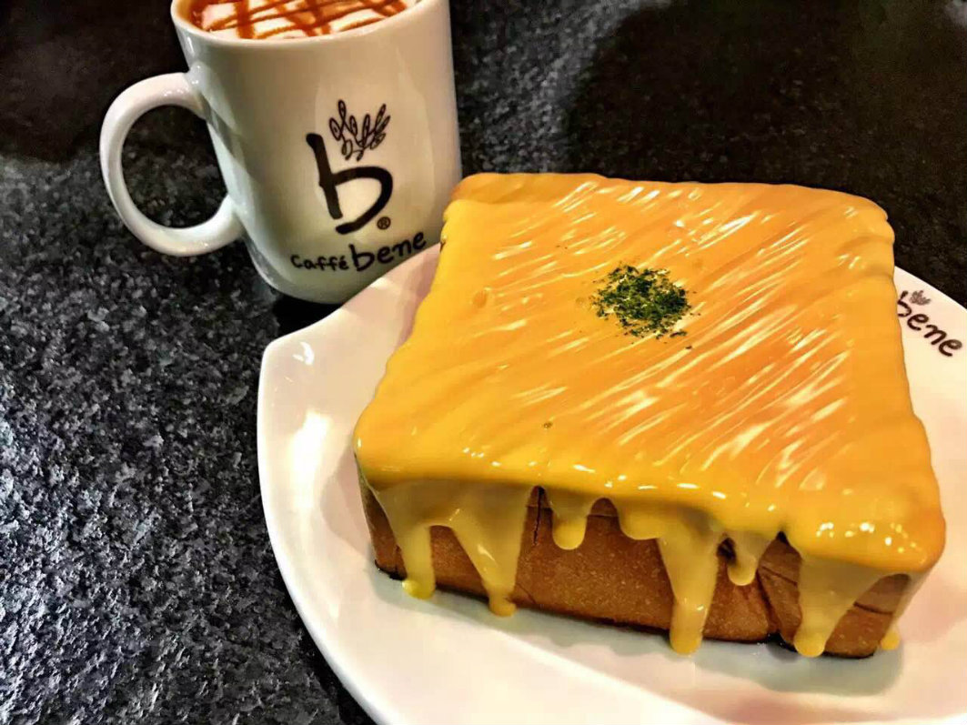 Caffe Bene Macau: Toast and Coffee