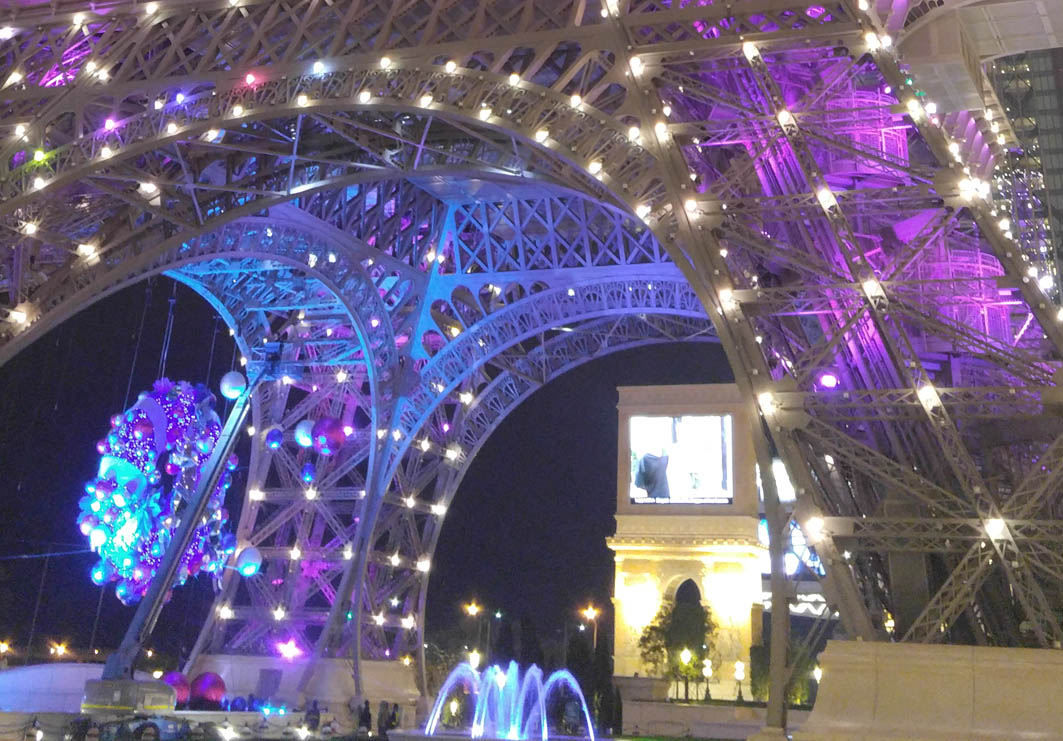 Eiffel Tower in Parisian Macao: View