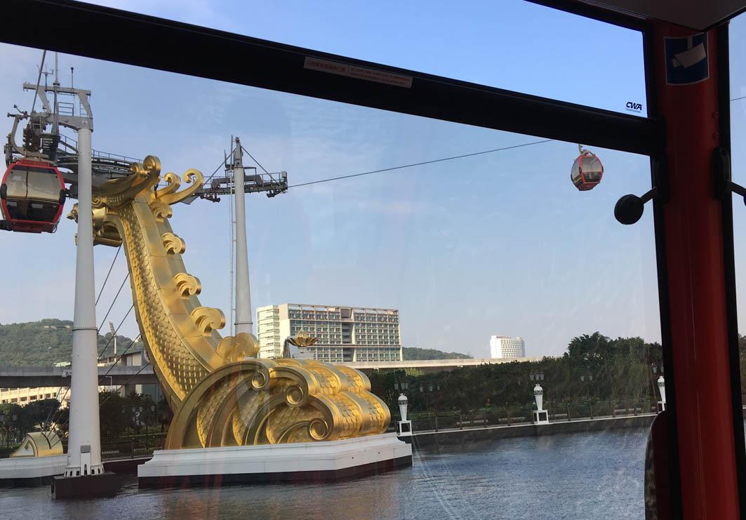 Wynn Palace Skycab Macau: View
