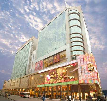 Casino Golden Dragon: exterior view