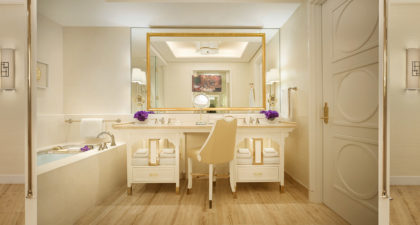 Wynn Palace Macau: Washroom at Palace Room