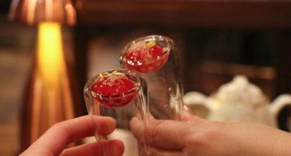 Shanghai Magic: Watermelon Juice with Pop Rocks