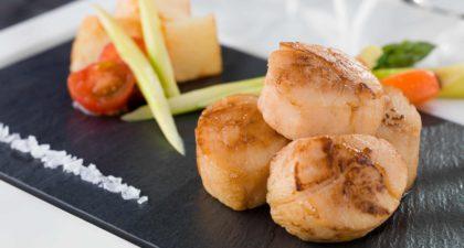 Copa Steakhouse: Pan Seared Hokkaido Scallops